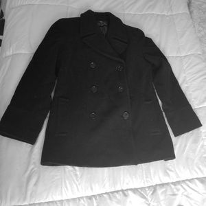 Pea coat/ trench jacket